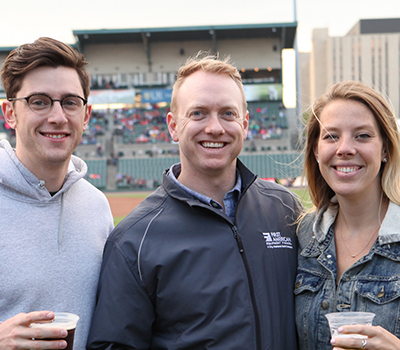 FAEF Attends Rochester Red Wings Game