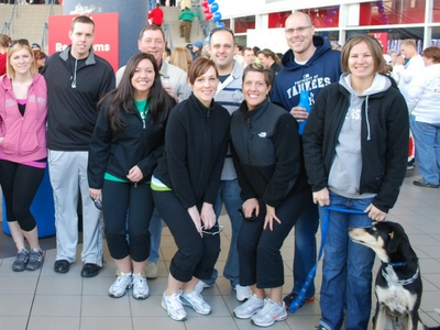 FAEF Participates in AHA Heart Walk
