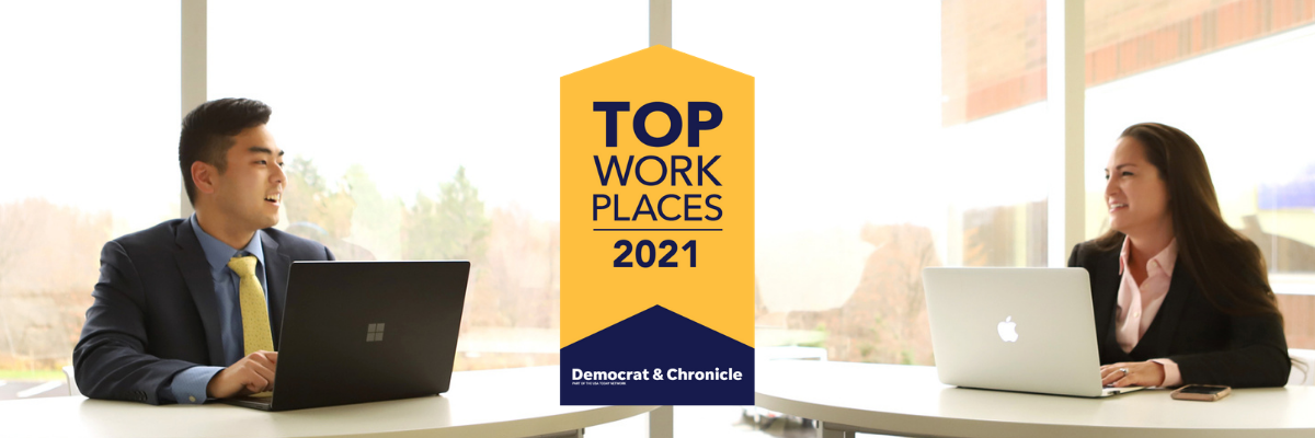 #1 Rochester Top Workplace
